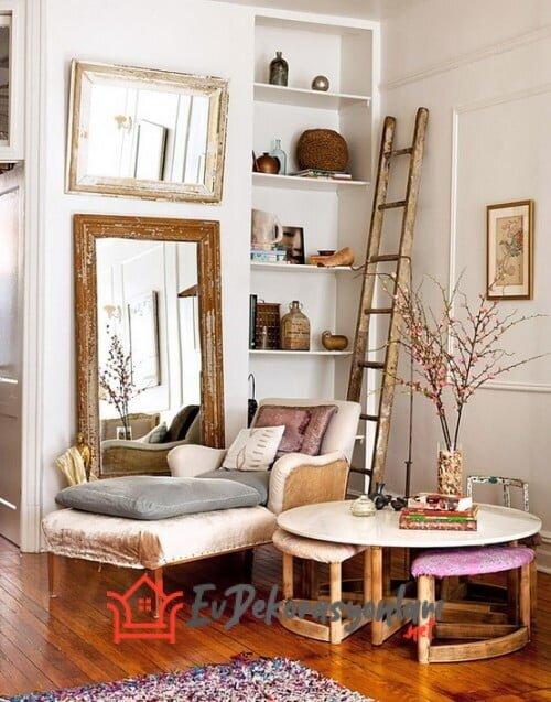 vintage ev dekorasyon ornekleri