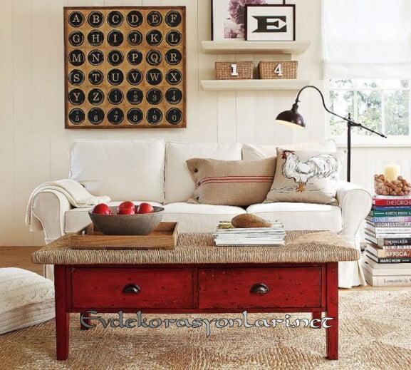vintage salon dekorasyon fikirleri