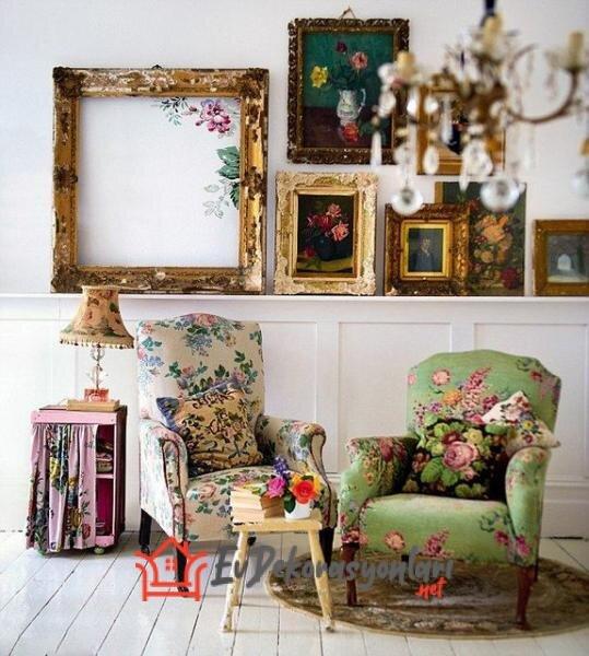 vintage tarzi ev dekorasyon onerileri