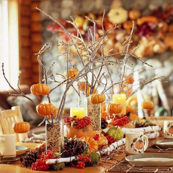 yaratici dekoratif sonbahar ev aksesuarlari