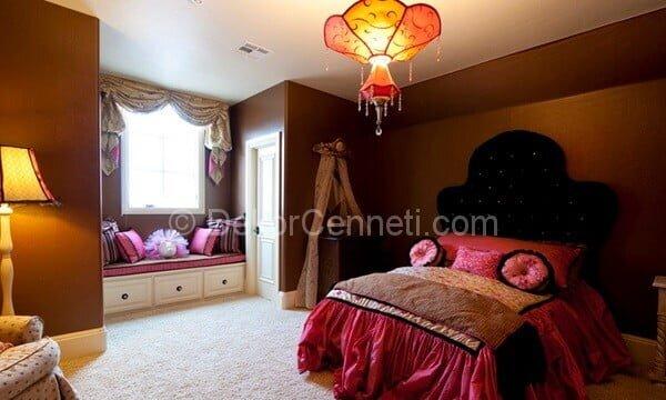 yatak odası dekorasyonunda farklı tarzları bir arada kullanmak