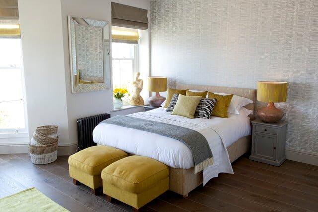 yatak odasi dekorasyon renk trendleri 2019