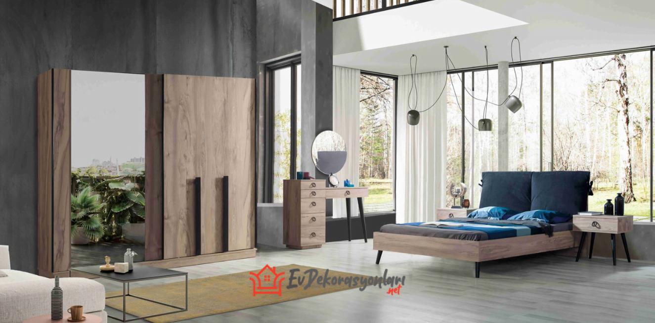 Yatak Odası İçin Sürgülü Dolap Modelleri