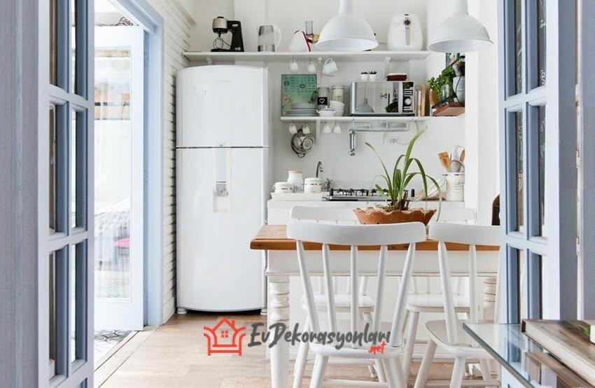 yazlik ev mutfak dekorasyon modeli 2019