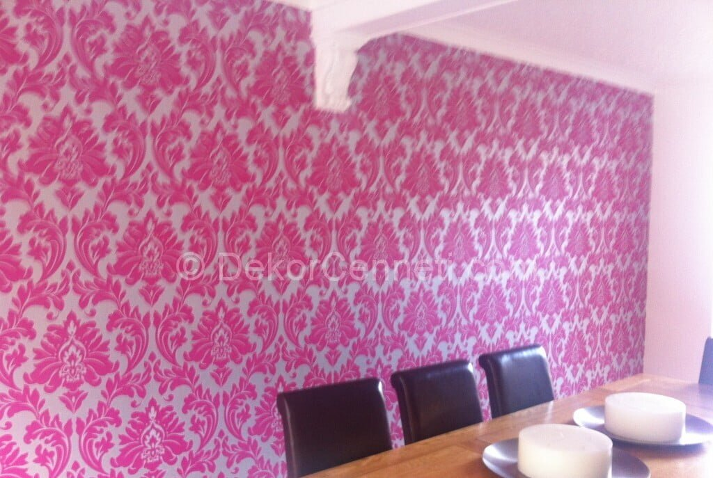 yemek odası duvar kağıdı modelleri