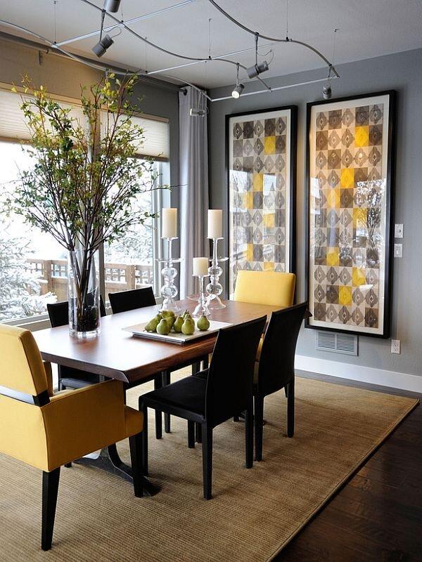 yemek odasi dekorasyon ornegi 2019