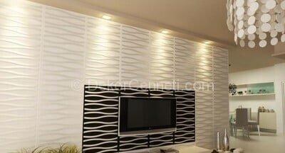 Yeni 3 boyutlu dekoratif duvar panelleri Galeri