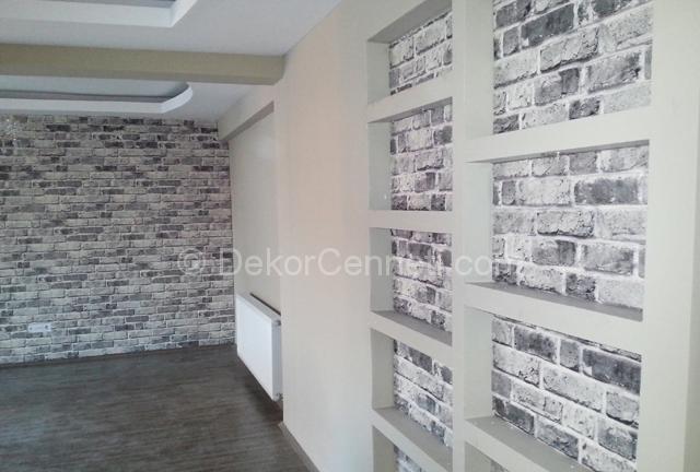 Yeni dekoratif duvar panelleri mutfak Fotoları