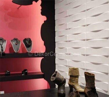 Yeni dekoratif duvar panelleri yapışkanlı Fotoları