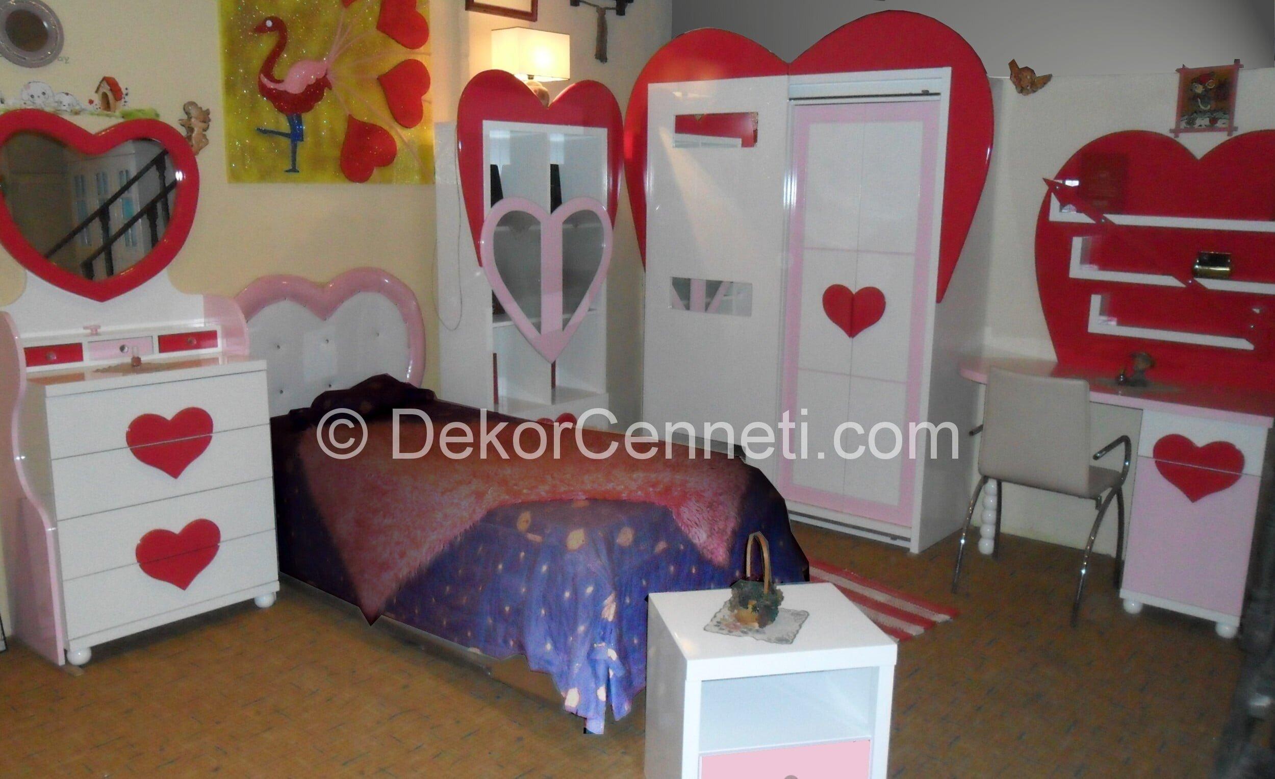 Yeni genç odası yatak başlığı Fotoları