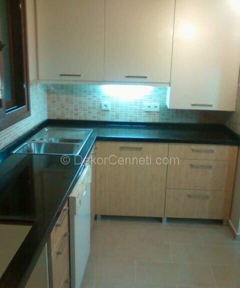 Yeni granit mutfak tezgahı Galerisi