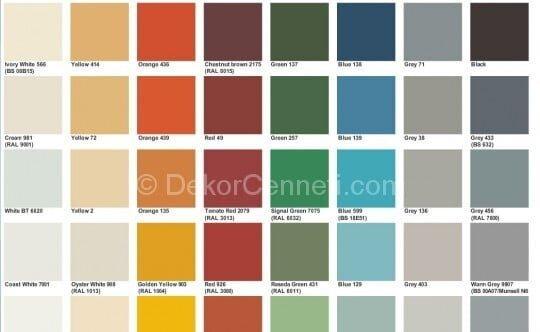 Yeni marshall 1001 renk Fotoları