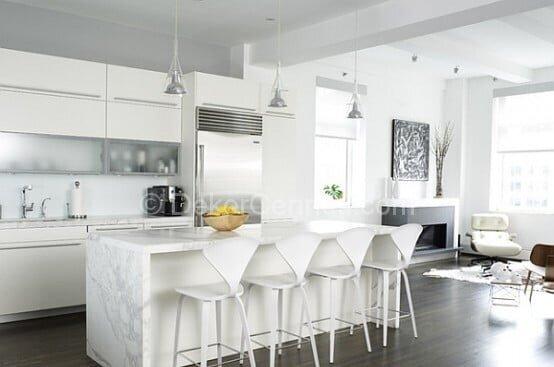 Yeni Moda bar masalı mutfak Resimleri