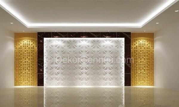 Yeni Moda dekoratif duvar panel kaplama Fotoğrafları