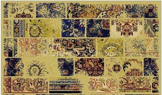 Yeni Moda dinarsu patchwork halı en ucuz Modelleri