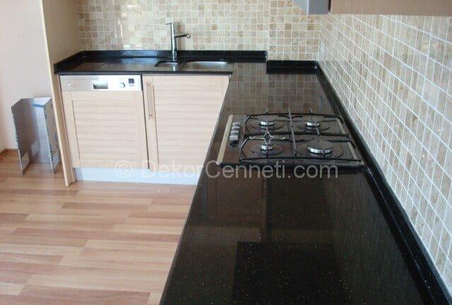Yeni Moda granit mutfak tezgahı nasıl yapılır Görselleri
