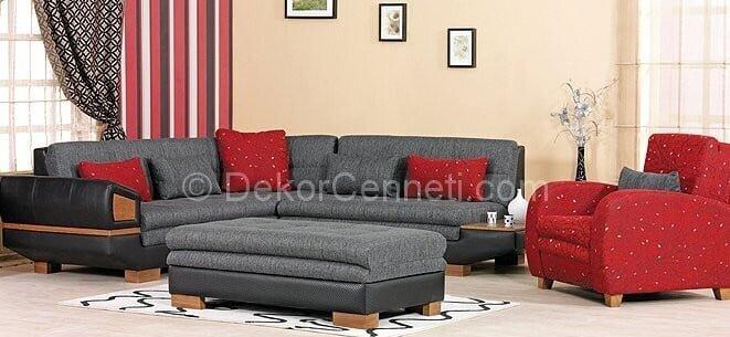 Yeni Moda gri koltuk ile uyumlu halı Fotoğrafları