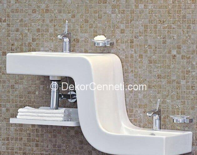 Yeni Moda ikili lavabo Fotoğrafları