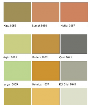 Yeni Moda marshall 1001 renk Galerisi