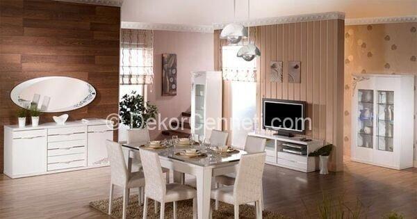 Yeni Moda mondi porto yemek odası fiyatı Galeri