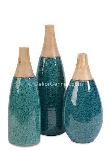 Yeni Moda seramik dekoratif vazo Galeri