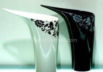 Yeni Moda seramik vazo boyama modelleri Fotoğrafları