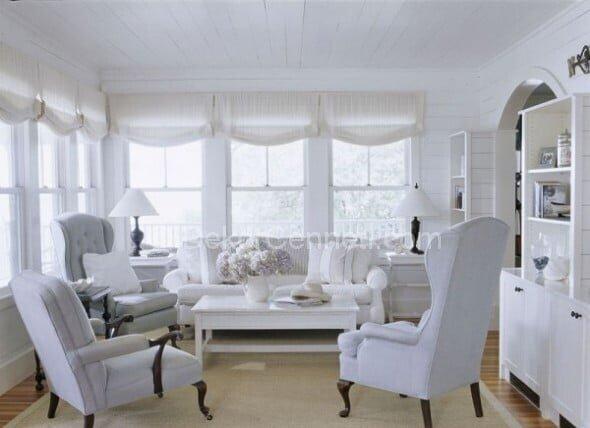 Yeni modern beyaz koltuk takımı Fotoları