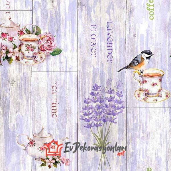 yeni sezon dekoratif desenli mutfak duvar kagidi modelleri