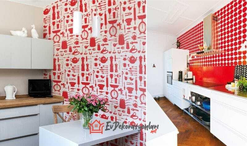 yeni sezon mutfak duvar kagidi modelleri