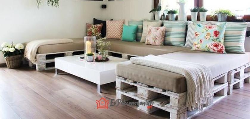 yeni trend ahsap paletten dekoratif mobilyalar
