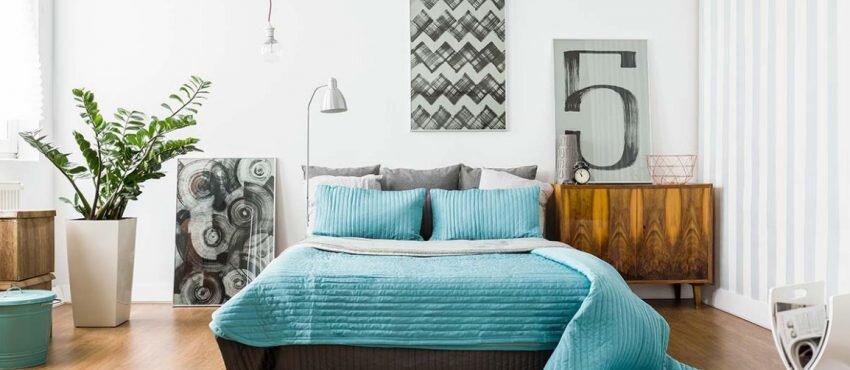 yeni trend yatak odasi dekorasyon renkleri 2019