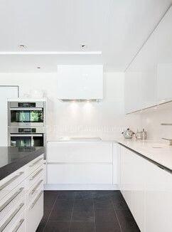 Yeni u mutfak dekorasyonu Resimleri