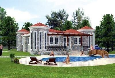 Yeni villa mimari çizimleri Resimleri