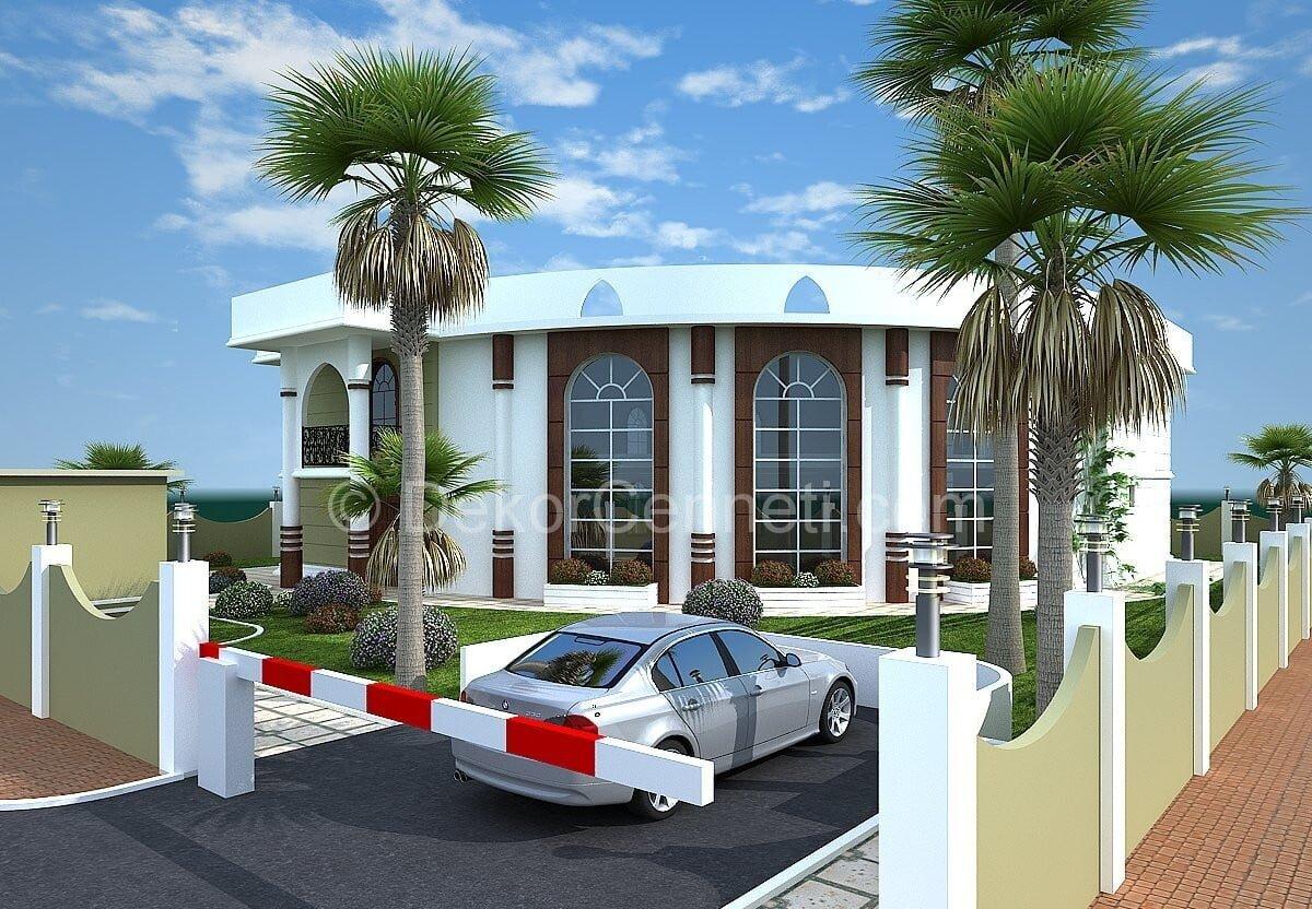Yeni villa mimari Galeri