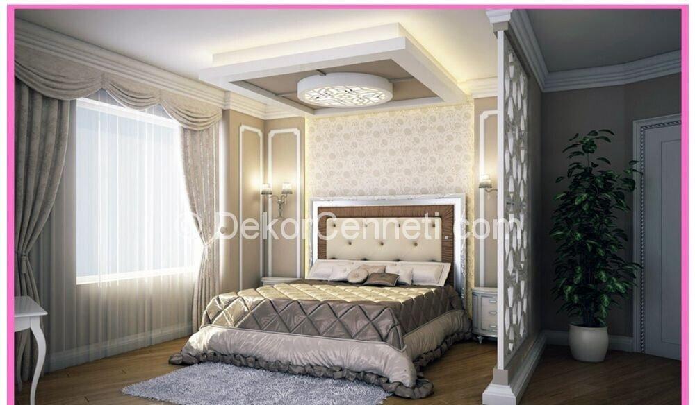 Yeni yatak odası asma tavan Fotoları