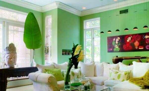 yesil=oturma-odasi-duvar-renk-fikirleri