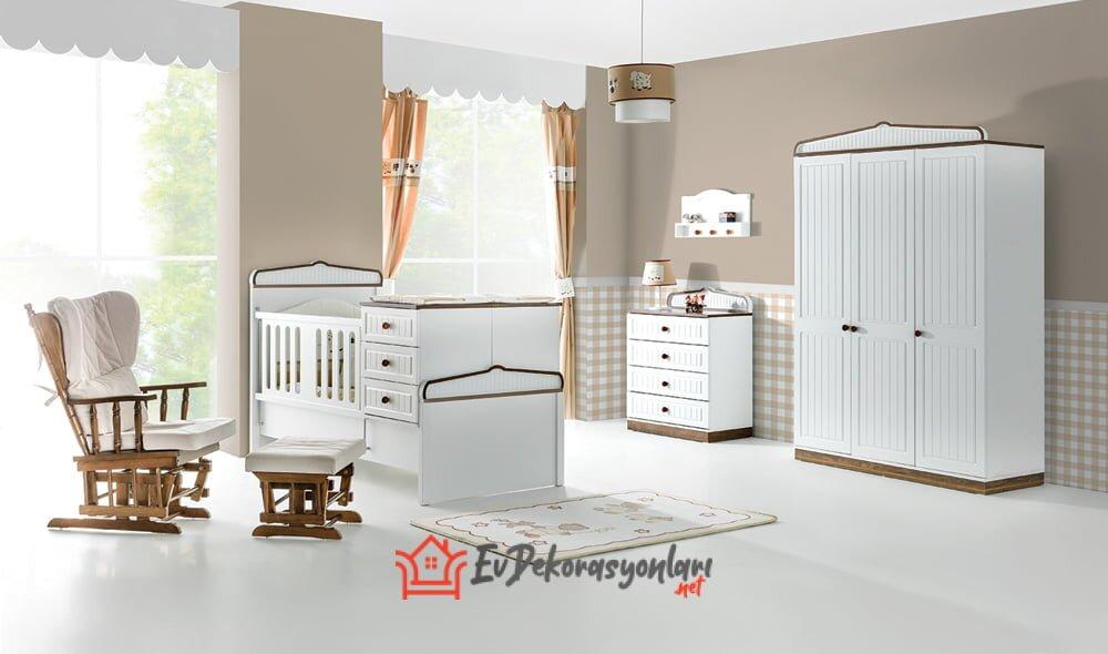 yildiz mobilya wood country bebek odasi takimi 2019
