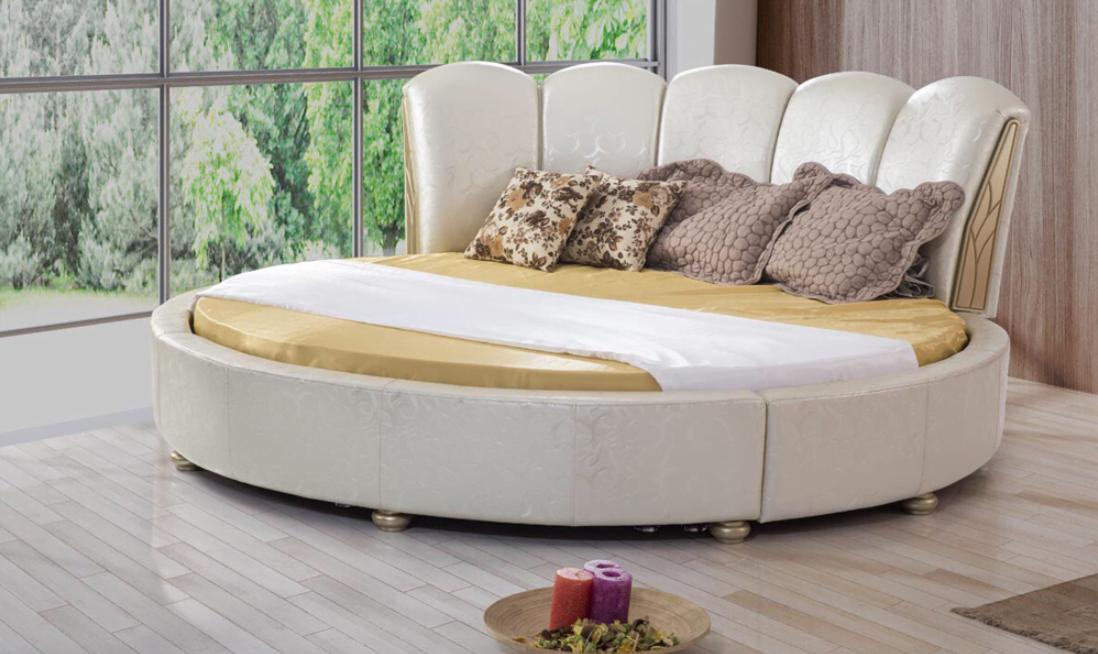 Yuvarlak Yatak Modelleri ile Yatak Odanızı Süsleyin!
