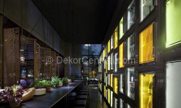 zarif ve modern restoran dekorasyonu1