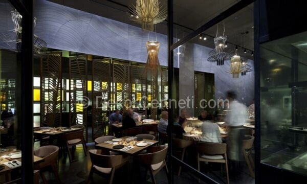 zarif ve modern restoran dekorasyonu2