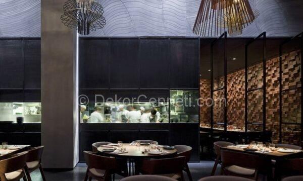 zarif ve modern restoran dekorasyonu3