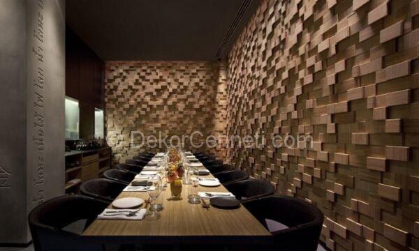 zarif ve modern restoran dekorasyonu4