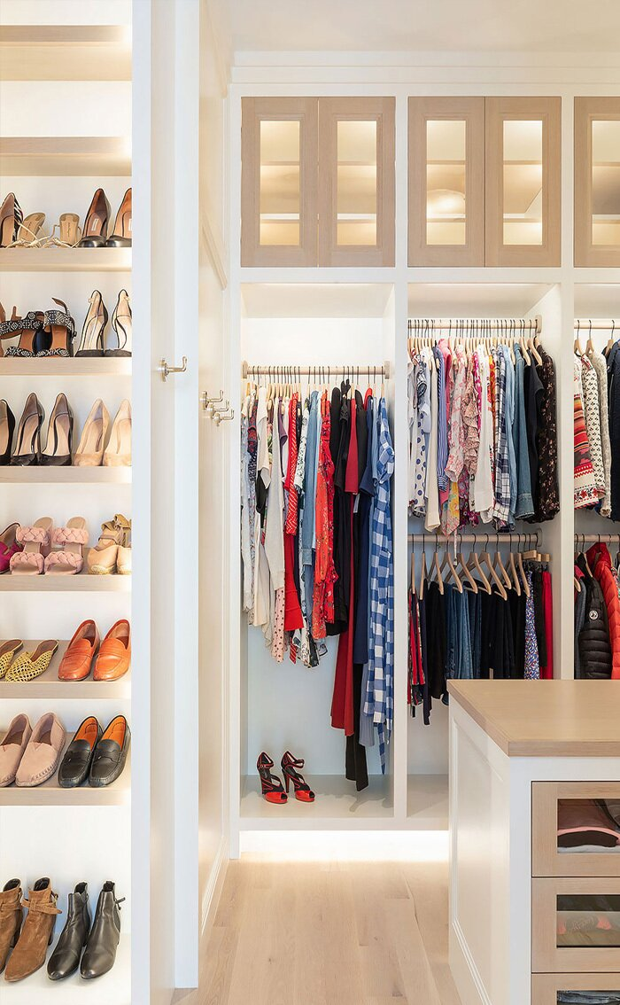 Giyinme Odası İçin Dolap Seçimi