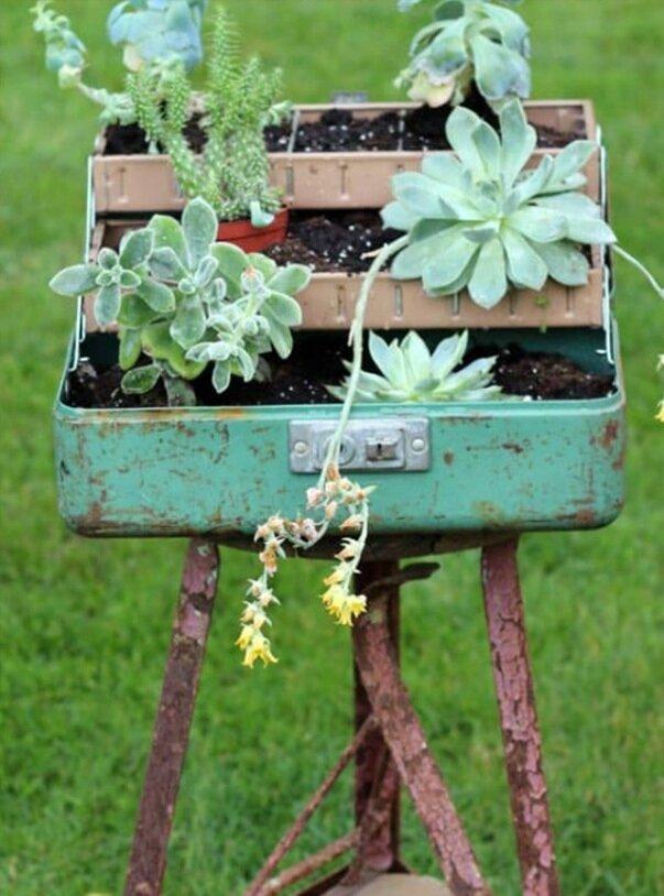 Bahçe Dekorasyonları İçin Kendin Yap Fikirleri