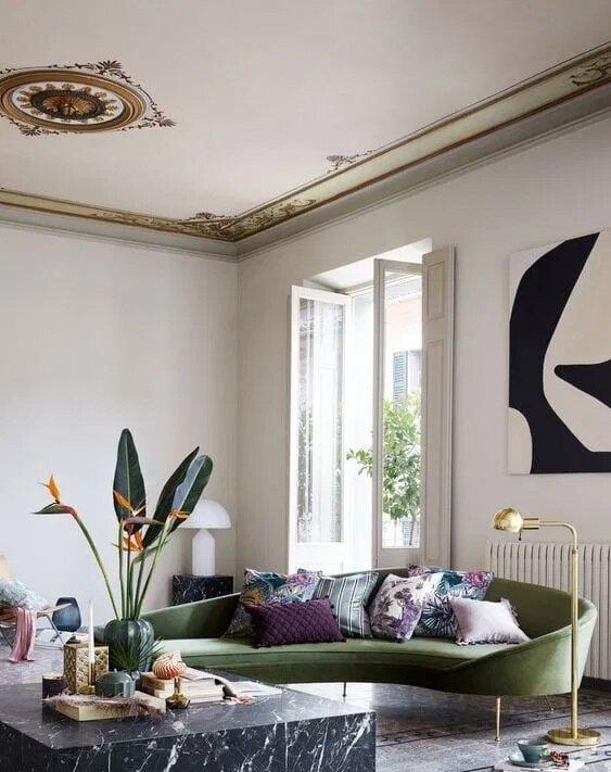Birbirinden Harika Salon Dekorasyon Tasarımlar