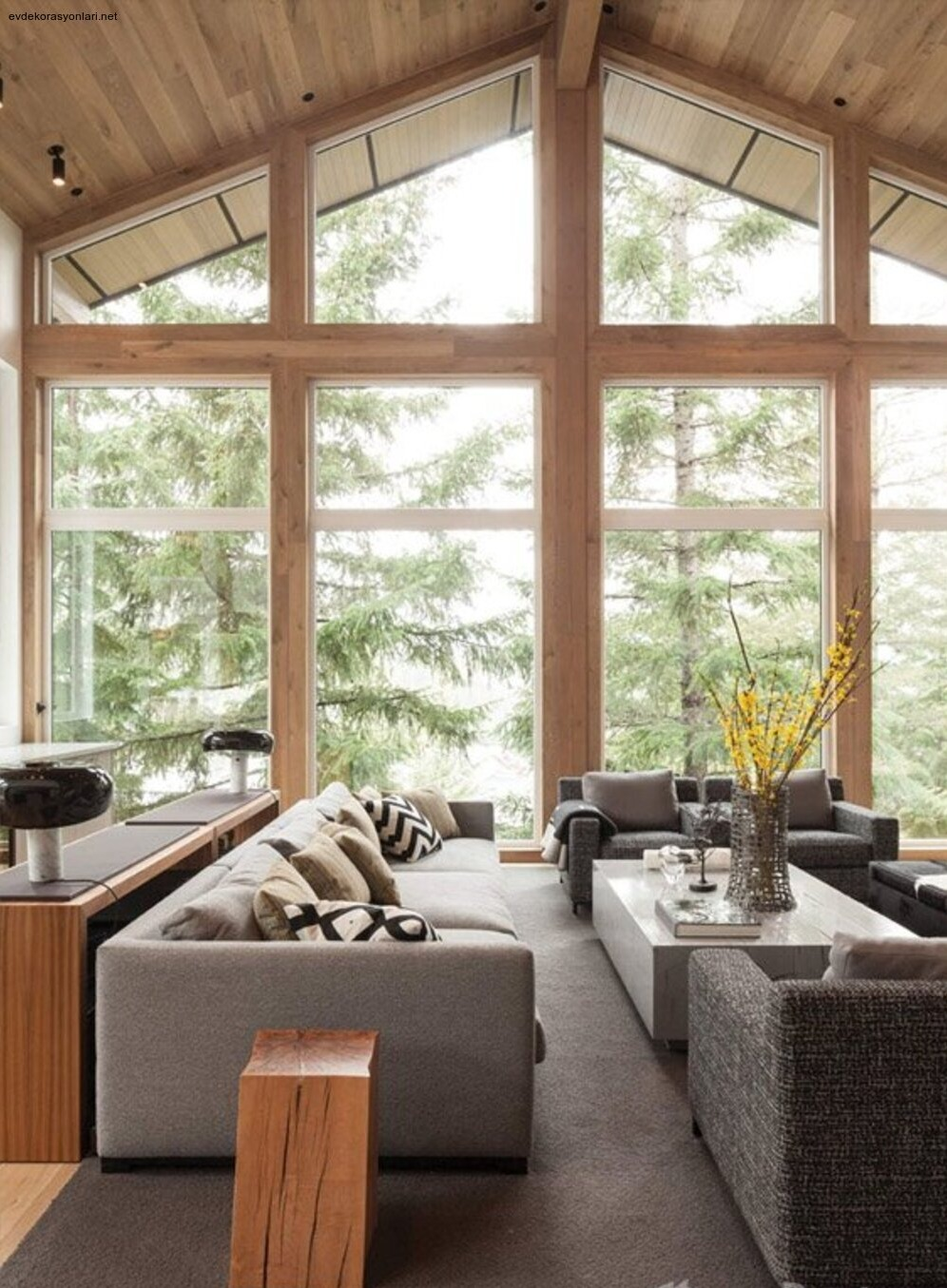 Birbirinden Güzel Ev Tasarımları
